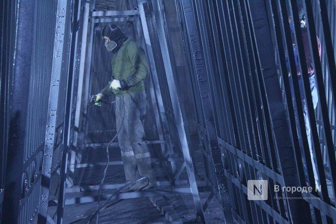 Как идет реставрация исторической ограды парка «Швейцария» - фото 35