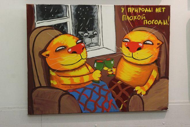 Коты Васи Ложкина приехали в Нижний Новгород - фото 25