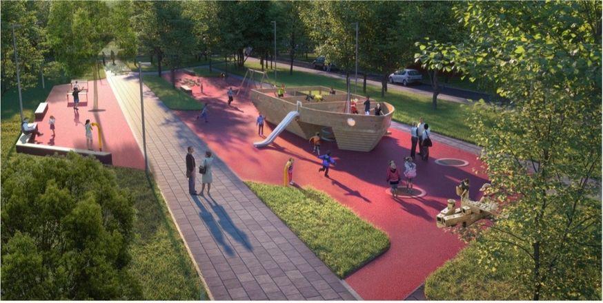 Сквер Корабелов благоустроят в Навашине за 60 млн рублей - фото 1