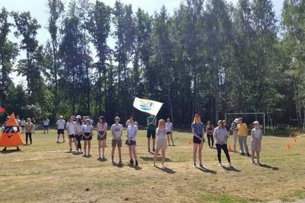 Открытие лагеря «Чкаловец»
