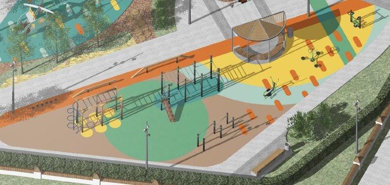 Стало известно, как будет выглядеть детская площадка в Дубенках - фото 4