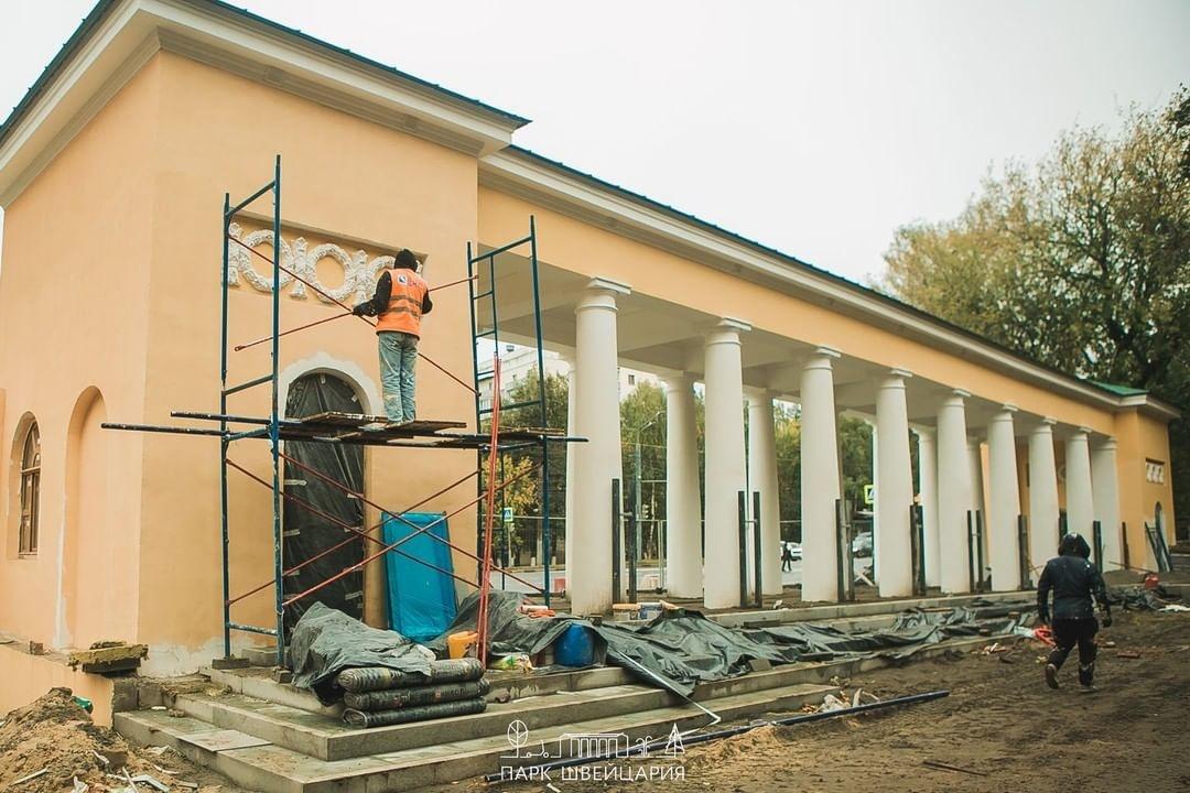 Благоустройство сквера «Первых маевок» в нижегородском парке «Швейцария» завершено - фото 3