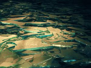 Свалку промышленных отходов 50-летней давности раскопали неизвестные в Борском районе
