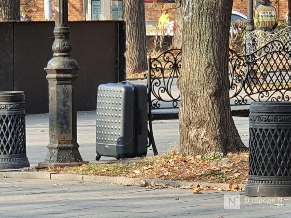 Нижегородская полиция разыскивает владельца «подозрительного» чемодана - фото 1