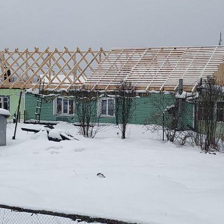 Активисты ОНФ помогают восстановить дом погорельцев в Краснобаковском районе - фото 3