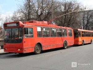 Нижегородский троллейбус № 9 временно изменит маршрут