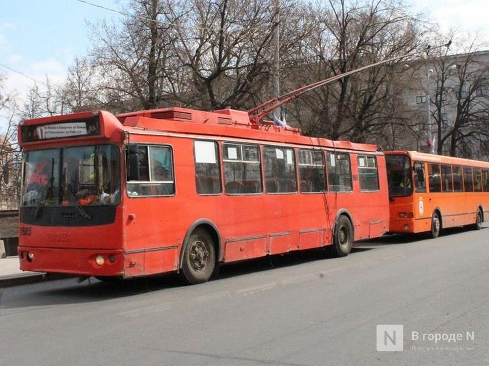 Троллейбусы перестанут останавливаться у гимназии № 1 на площади Минина и Пожарского - фото 1