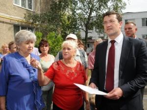 Глеб Никитин оценил работы по благоустройству в Сормове