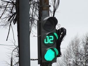Три светофора на Бурнаковской изменили режим работы