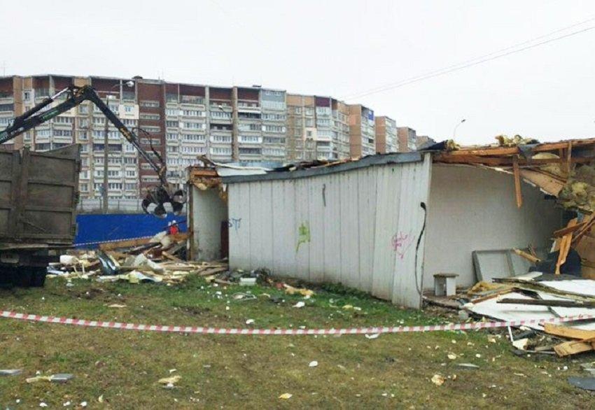 Незаконные «разливайки» и киоски продолжат сносить в Канавинском районе - фото 1