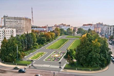 За 75 млн рублей благоустроят площадь Горького к юбилею Нижнего Новгорода