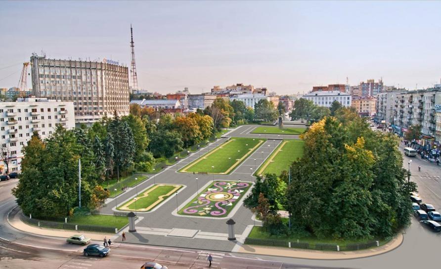 За 75 млн рублей благоустроят площадь Горького к юбилею Нижнего Новгорода - фото 1