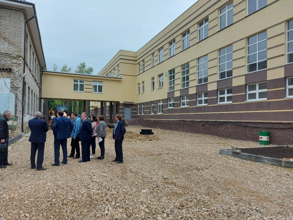 Корпус на 200 мест построят у арзамасской школы № 7 к концу года - фото 1