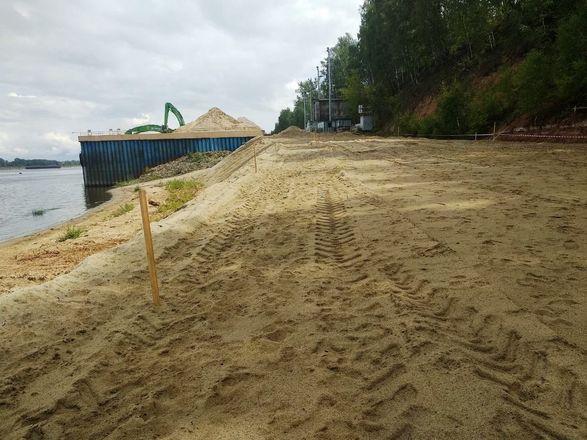 Виновных в складировании песка на берегу Волги оштрафовали на 200 тысяч рублей - фото 2