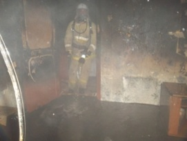Неосторожный курильщик сгорел в своей квартире в Приокском районе