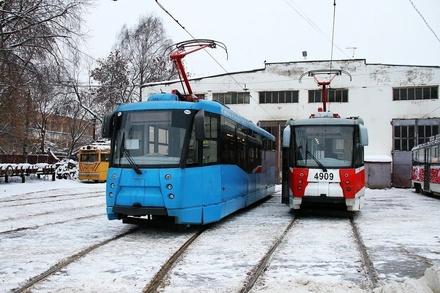 Шесть московских трамваев вышли на нижегородские маршруты