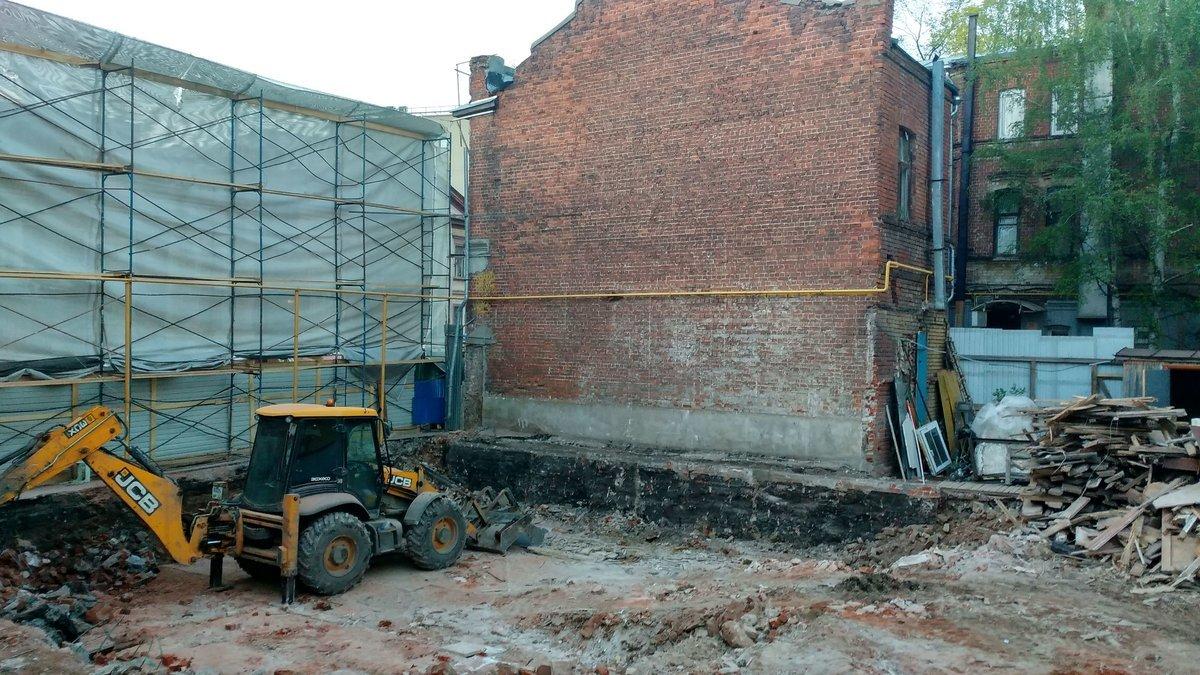 Нижегородские градозащитники просят прокуратуру проверить законность сноса «Шахматного дома» в процессе реставрации - фото 1