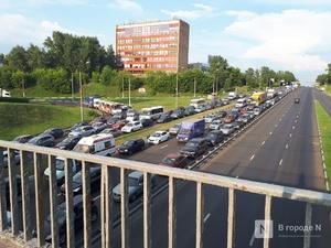 Интенсивность движения на нижегородских дорогах не поднималась выше одного балла на самоизоляционной неделе