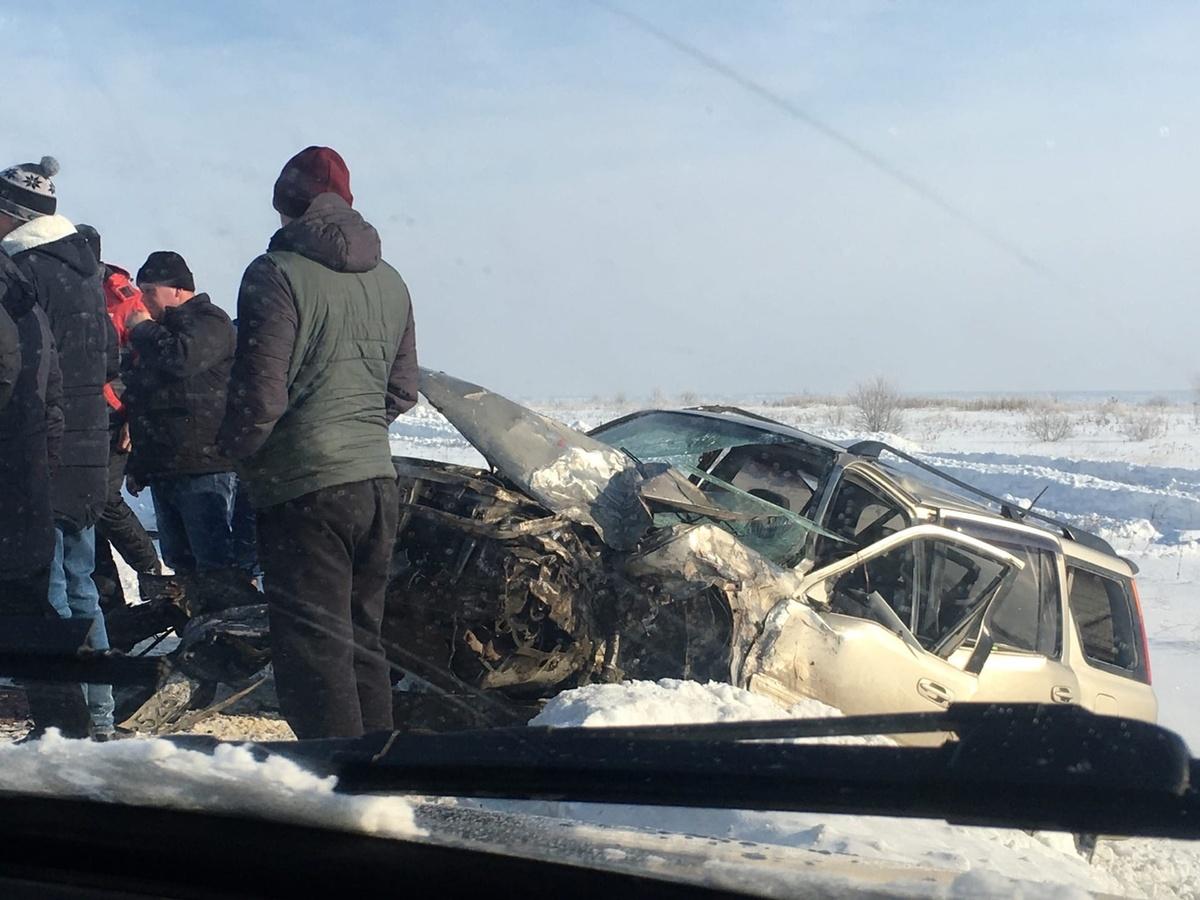 Серьезная авария с участием трех автомобилей произошла на трассе под Арзамасом - фото 1