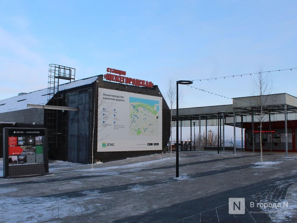 Смотровая площадка появилась у нижегородской канатной дороги - фото 1