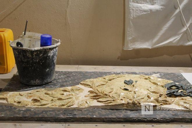 Реставрация исторической лепнины началась в нижегородском Дворце творчества - фото 27