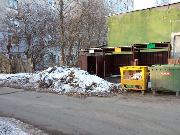 Нарушения выявлены на 8 контейнерных площадках в Приокском районе - фото 2