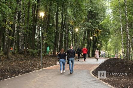 Недавно уложенную плитку меняют в нижегородском парке «Швейцария»