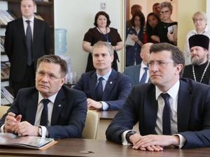 Глеб Никитин и Алексей Лихачев проверили ход реализации проекта «Эффективная губерния»