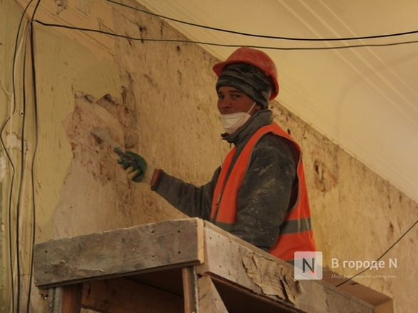 Единство двух эпох: как идет реставрация нижегородского Дворца творчества - фото 61