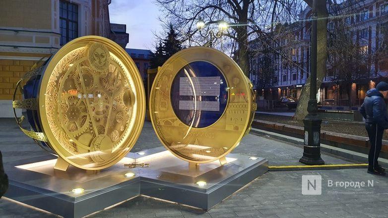 Часы обратного отсчета до 800-летия Нижнего Новгорода сломались на второй день - фото 1