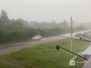 Разгул дождевой стихии наблюдают жители Богородского района