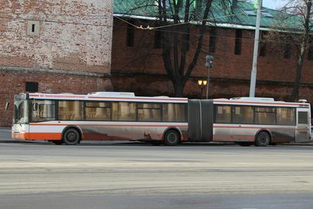 24 автобуса-гармошки, закупленные для Нижнего Новгорода, остаются неотремонтированными
