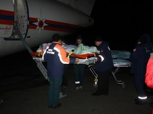 Спецборт МЧС доставил тяжелобольного мужчину из Грозного в Нижний Новгород