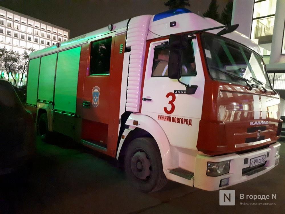 Один человек пострадал во время пожара на проспекте Гагарина