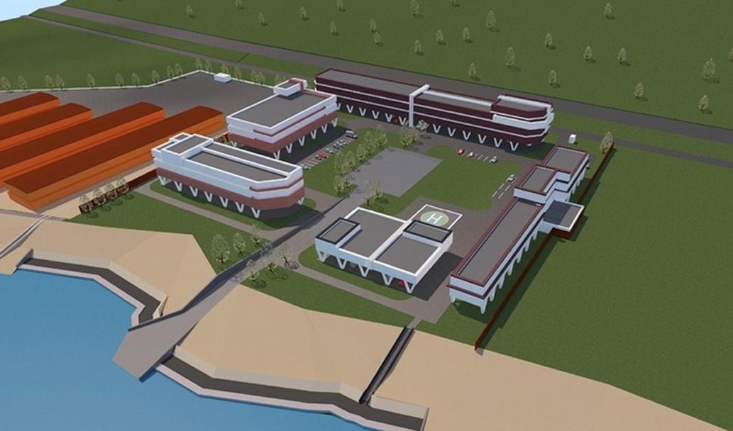 Гостиница и центр реабилитации появятся на Гребном канале - фото 1