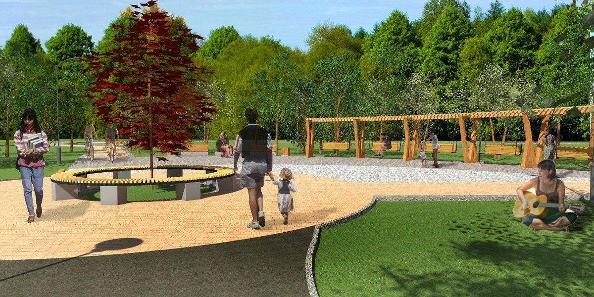 Площадки для пляжного волейбола, игры в домино и дрессировки собак появятся в нижегородском парке Станкозавода - фото 1