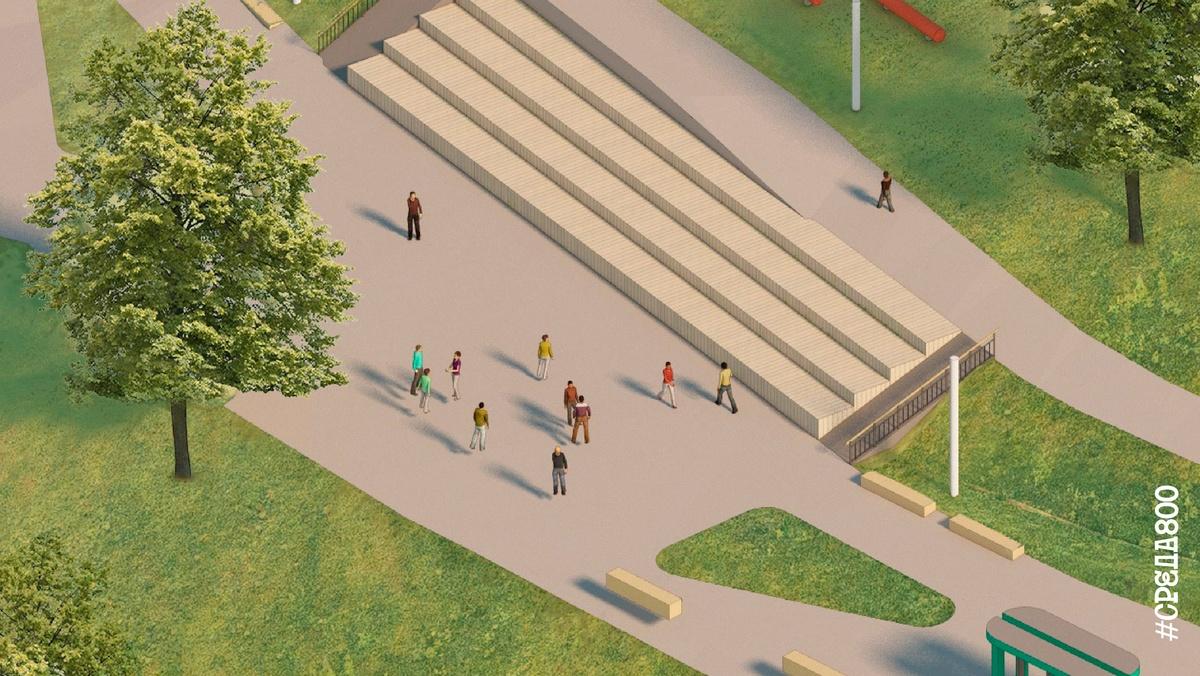 Амфитеатр и площадку для слэклайна предлагают установить на набережной Федоровского - фото 3