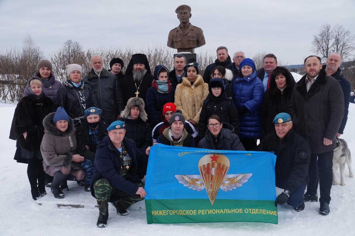 Артем Баранов принял участие в мероприятии, посвященном памяти шестой роты 104-го полка Псковской дивизии ВДВ - фото 1
