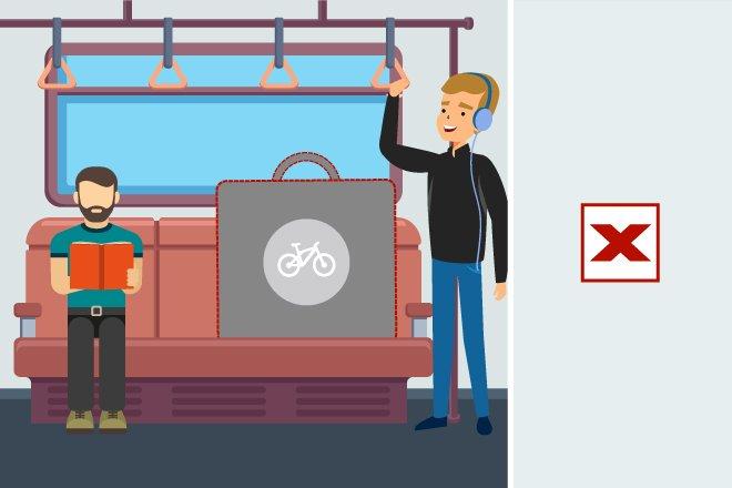В вагон на колесах: можно ли провозить велосипед в метро?  - фото 6