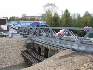 В Советском районе открыли движение по восстановленному мосту у радиорынка (ФОТО)
