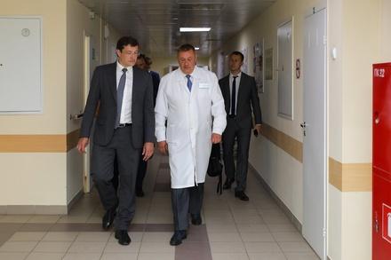Главврач Борской ЦРБ Александр Смирнов возглавил Минздрав Нижегородской области