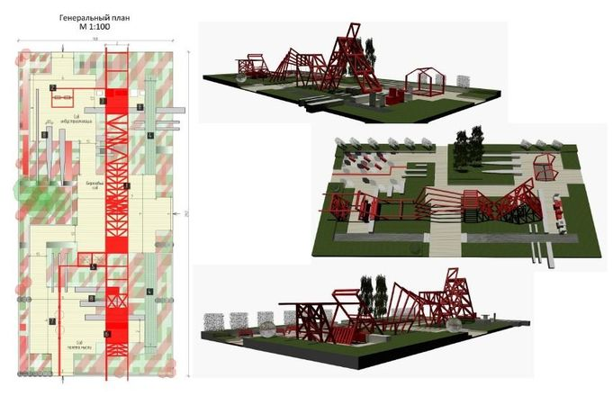 Авангардистский сад и скейт-парк: стало известно, как будет выглядеть площадь Советская - фото 11