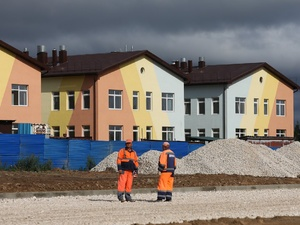 Детский сад в жилом районе Боталово-4 готов на 75%