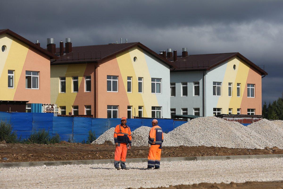 Детский сад в жилом районе Боталово-4 готов на 75% - фото 1