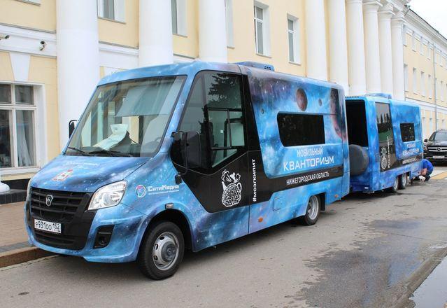 Мобильные технопарки для детей приедут в отдаленные школы Нижегородской области - фото 1
