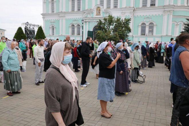 Торжества в честь Дней памяти Серафима Саровского начались в Дивееве - фото 6