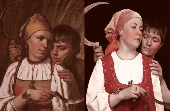 Заключенные нижегородки изобразили персонажей картин Васнецова и Врубеля - фото 3