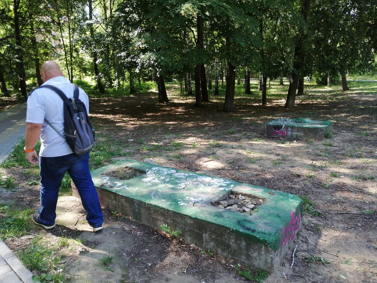 Парк Пушкина в Нижнем Новгороде не ремонтируют из-за нехватки средств - фото 1