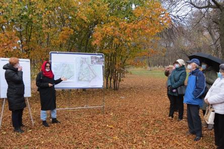 Ветераны раскритиковали проект благоустройства второй очереди автозаводского Парка Славы