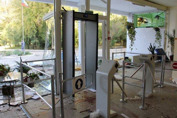 Политехнический колледж вКерчи возобновил работу после взрыва